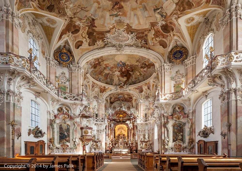 Birnau basilica on Lake Constance Germany
